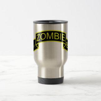 1st Zombie Combat Battalion Mug - Zombie Scroll