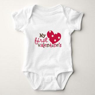 1stValentineHeartPolkaDots T-shirt