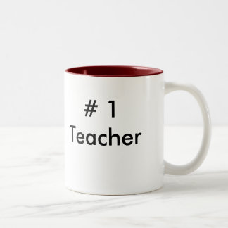 # 1Teacher Two-Tone Coffee Mug