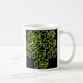 1through12 eight coffee mug