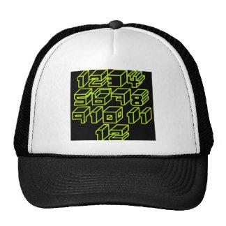 1through12 eight trucker hat