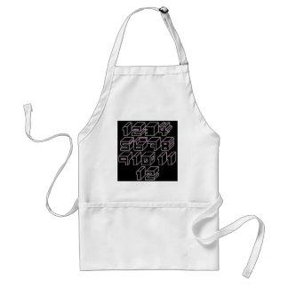 1through12 five adult apron