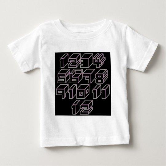 1through12 five baby T-Shirt