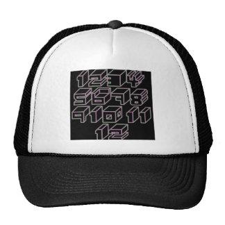 1through12 five trucker hat