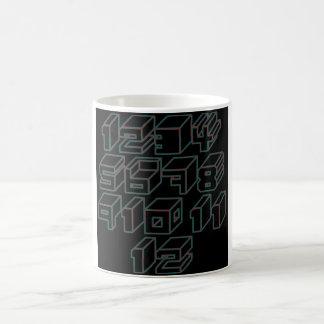 1through12 four coffee mug