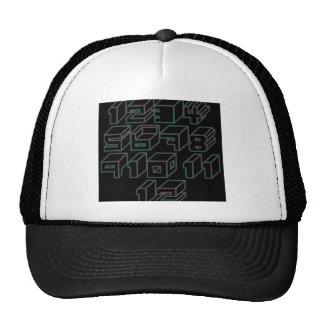 1through12 four trucker hat