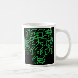1through12 nine coffee mug