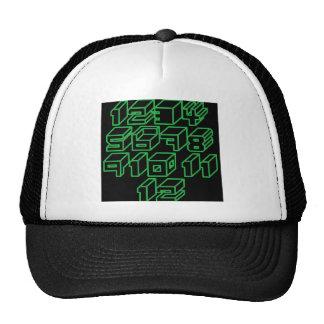 1through12 nine trucker hat
