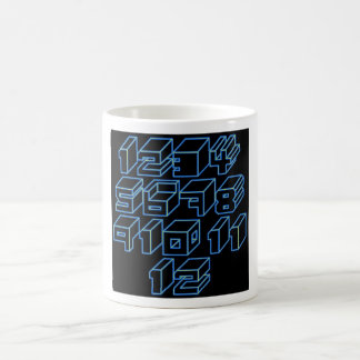 1through12 seven coffee mug