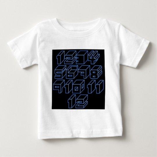 1through12 six baby T-Shirt