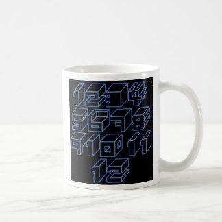 1through12 six coffee mug