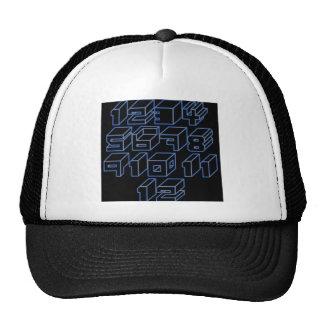 1through12 six trucker hat