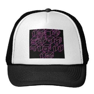 1through12 three trucker hat