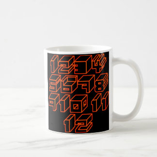 1through12 two coffee mug