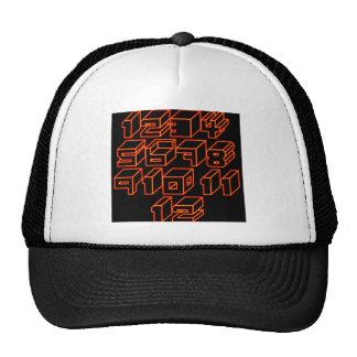 1through12 two trucker hat