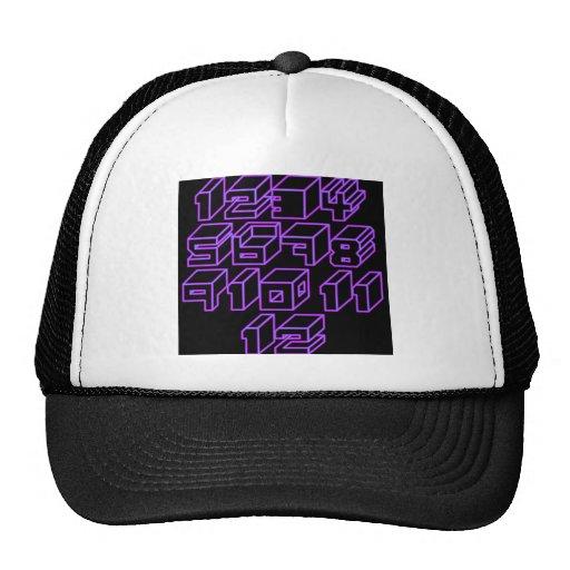 1through12 uno gorras de camionero