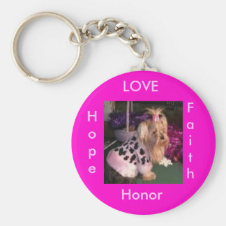 1tinypi, LOVE, Honor, Hope, Faith Keychain