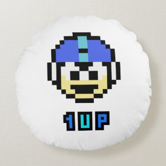 1UP 2 ROUND PILLOW
