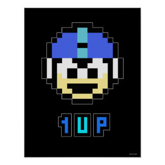 1UP POSTER