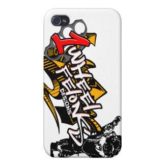 1wheelfelons Iphone case stunt streetbike iPhone 4/4S Cases