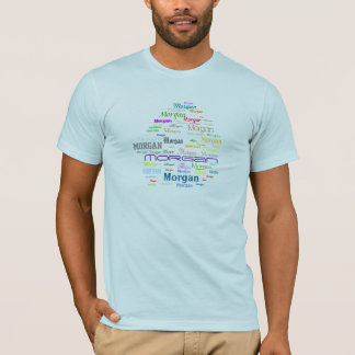 1Word-1Click Colorful Word Cloud Generator T-Shirt