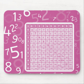 1x1 pink mouse pad