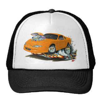2000-05 Monte Carlo Orange Car Trucker Hat