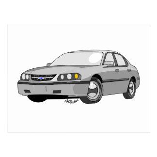 2000 Chevrolet Impala Postcard