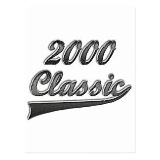 2000 Classic Postcard