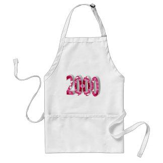 2000 DELANTALES