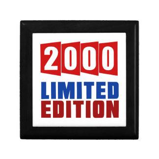 2000 Limited Edition Keepsake Box