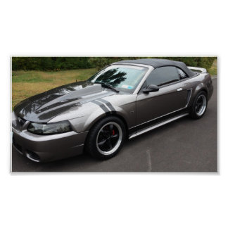 2000 mustang gt convertible posters
