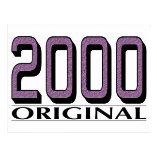 2000 originales postal