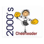 2000's Cheerleader Stick Figure Post Cards