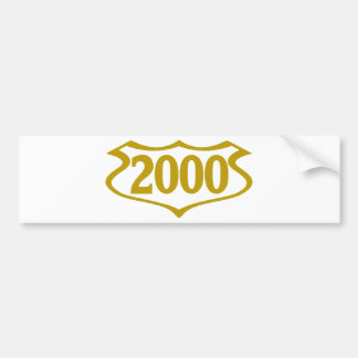 2000-shield.png bumper sticker
