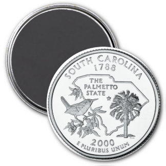 2000 South Carolina State Quarter magnet