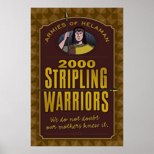 2000 Stripling Warriors poster. Poster