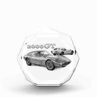 2000GT ACRYLIC AWARD