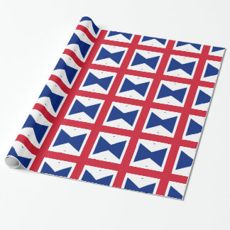 2000px-Union_flag_1606_(Kings_Colors) Wrapping Paper