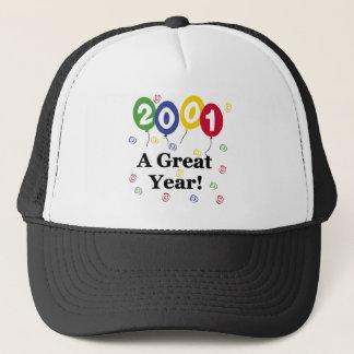 2001 A Great Year Birthday Trucker Hat