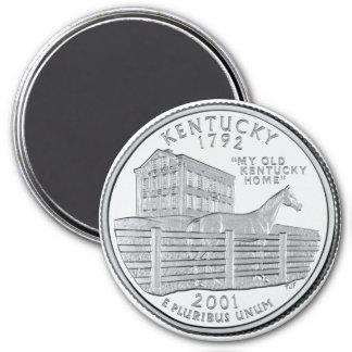 2001 Kentucky State Quarter magnet