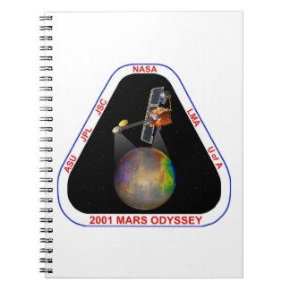 2001 Mars Odyssey Note Books