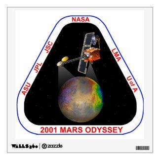 2001 Mars Odyssey Wall Sticker