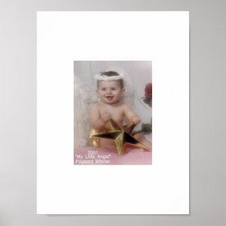 2001 My Little Angel Pageant Winner Poster