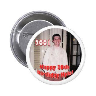 2001 PIN REDONDO 5 CM