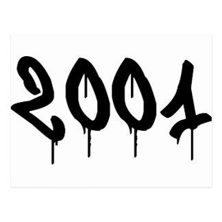 2001 POSTCARD
