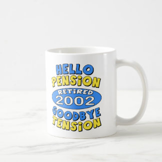 2002 Retirement Coffee Mug