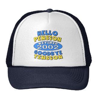 2002 Retirement Trucker Hat