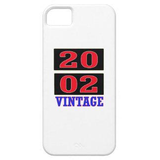 2002 Vintage iPhone 5 Cases