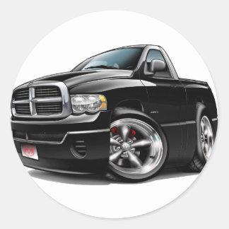 2003-08 Dodge Ram Black Truck Stickers